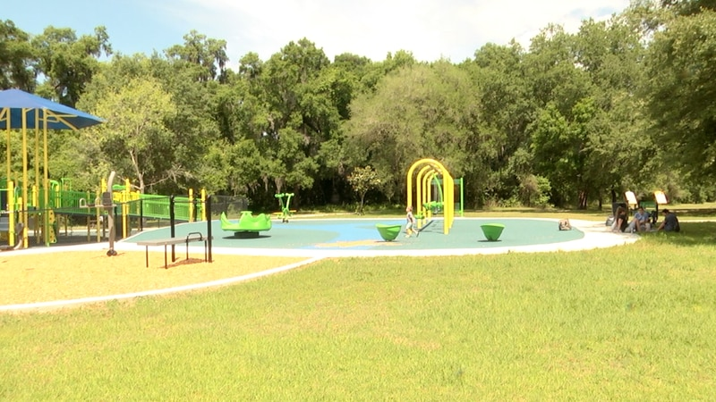 Residents respond to new renovations at Squirrel Ridge Park