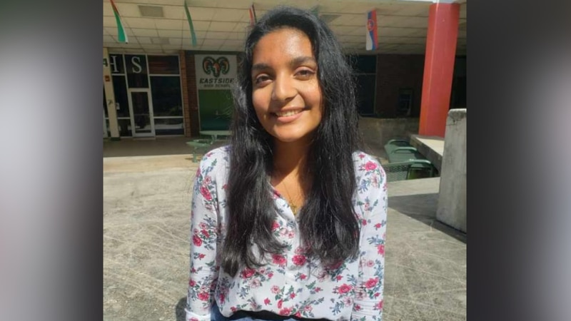 Aarti Kalamangalam, a senior at Eastside High School, is one of just 625 semifinalists in the...