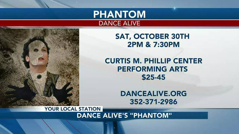 """Dance Alive Ballet returns in time for Halloween: """"PHANTOM"""" tickets now available"""