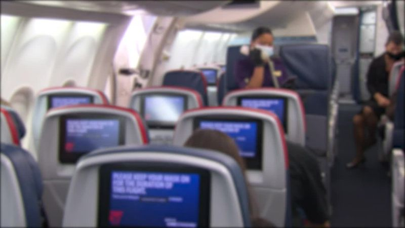 Keeping middle seats vacant on airplanes can reduce the risk of COVID-19 exposure by up to 57%,...