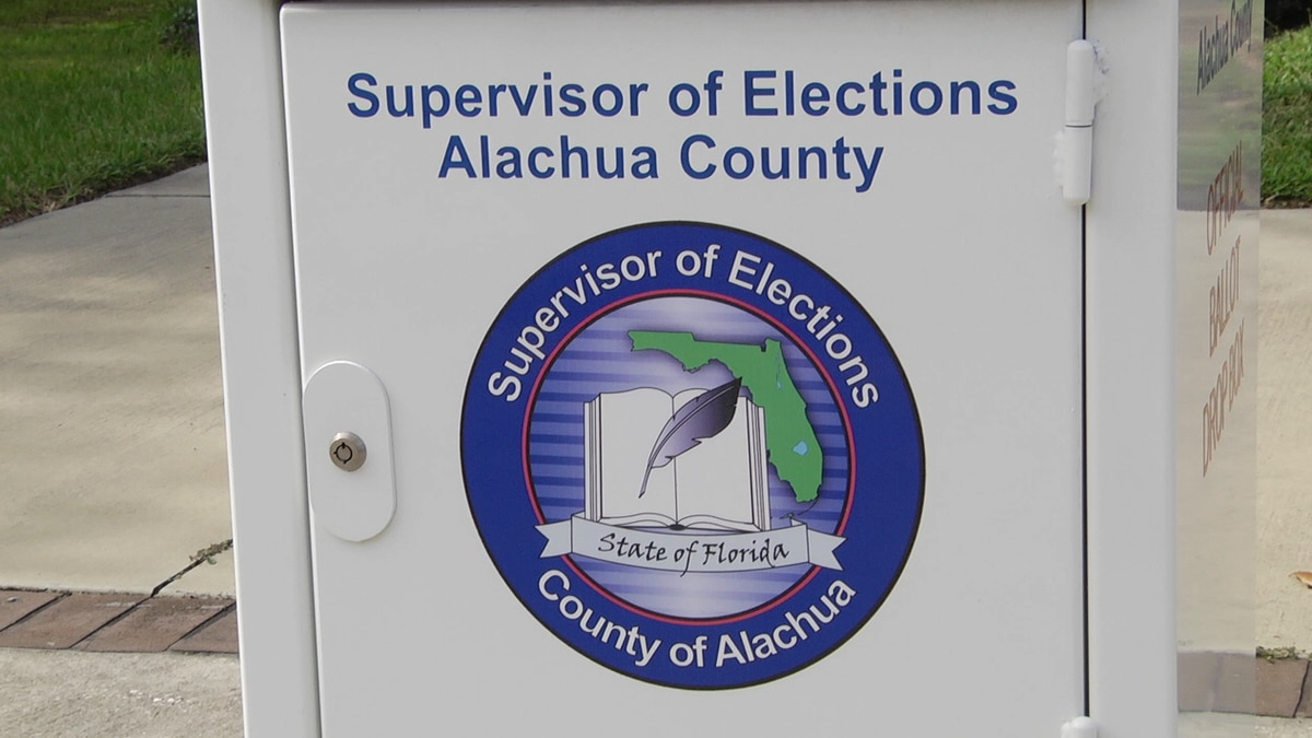 Early voting started Monday in parts of North Central Florida ahead of the August 18th primary.