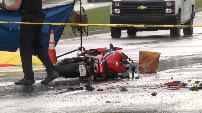 One dead in head-on motorcycle crash near University of Florida